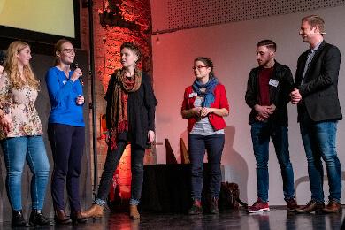 Preisverleihung des Fairwandler Preis der Karl Kübel Stiftung an Nahostcast